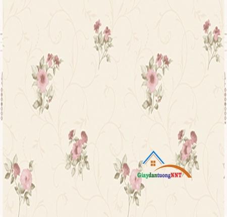 Giấy dán tường màu hồng mã 6006-1s